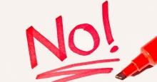 เรียนรู้คำศัพท์ง่ายๆ ที่สามารถใช้ในการปฏิเสธแทนคำว่า 'No'